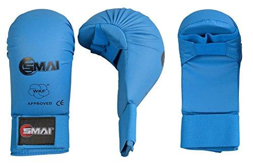 SMAI WKF Karate Handschutz blau Gr. M