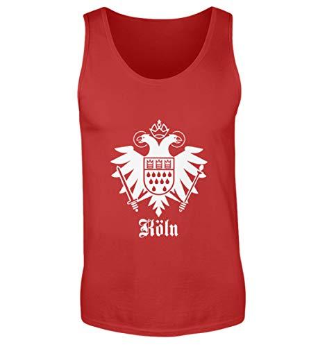 Köln Stadtwappen Adler - Herren Tanktop -M-Rot
