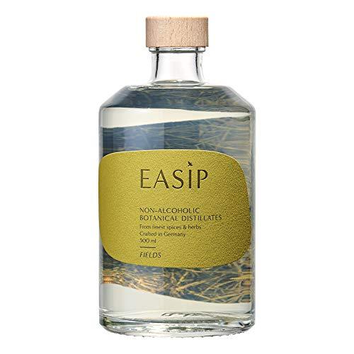 EASIP FIELDS | Alkoholfrei | Zuckerfrei | Preisgekrönte Destillate für alkoholfreie Cocktails und Longdrinks | 8 Botanicals | Mixe deine alkoholfreie Alternative zu Gin & Tonic | 500ML