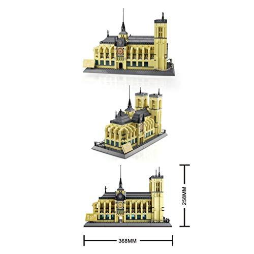 WANGE Kathedrale Notre Dame - ArtikelNr. 5210, Anzahl der Teile: 1380