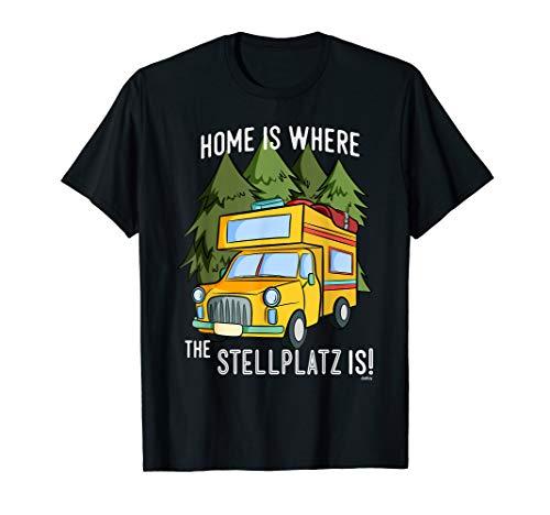 Camping Wohnmobil Lustig Witzig Spruch Wohnmobil T-Shirt