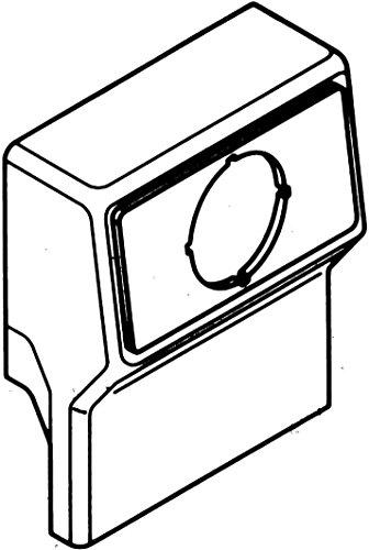 Rehau Elektro.Inst. Gerätetank leer SL GTleer200110 rws rws m.Blende SL;SL 110;SL-L 110;SL-T 110 Geräteträger für Sockelleistenkanal 4007360305826