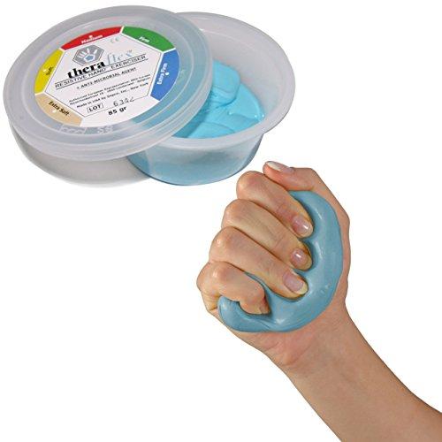Theraflex Therapie-Knetmasse super strong, 85 g, blau