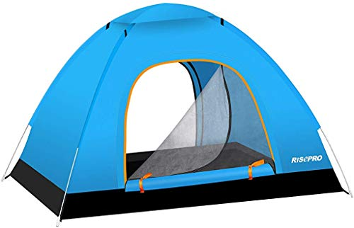 RISEPRO Instant Automatic pop up Camping Tent, 2-3 Persons Lightweight Tent, Waterproof Windproof,...