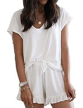 Best womens white pajama set Reviews