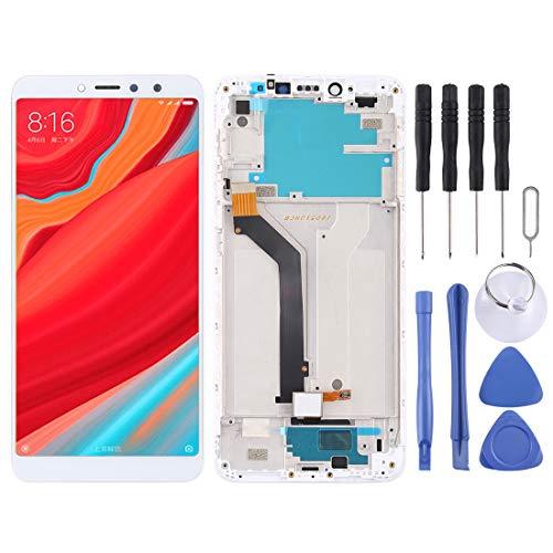 HUANGMENG Pantalla LCD XIAOMI y ensamblaje Completo del digitalizador con Marco para Xiaomi Redmi S2 (Negro) LCD Screen XIAOMI (Color : Blanco)