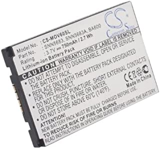 Talk/&Drive 43SL A, GPD 430 GPS GP55BT, X820 MLS DESTINATOR GPD430, Takara Talk/&Drive 43SL CS-WTX820SL Bater/ía 800mAh Compatible con WAYTEQ Curtis X850 sustituye 554844P