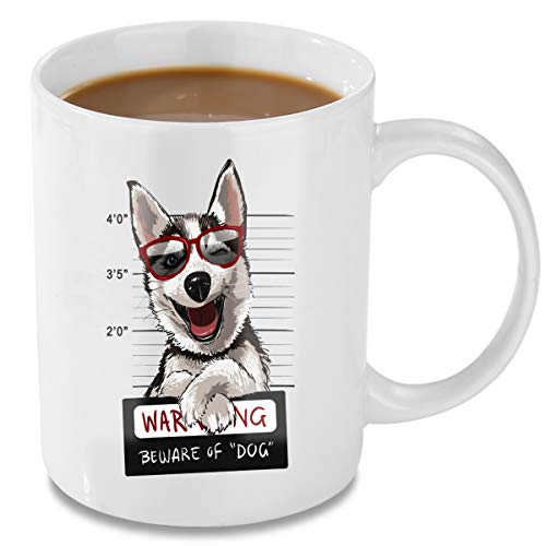 Coffee Mug, 11oz Funny Coffee Mug: Dog, Unique Ceramic Novelty Holiday Christmas Hanukkah Gift for Men and Women Who Love Tea Mugs Coffee Cups, Suitable for office and Home