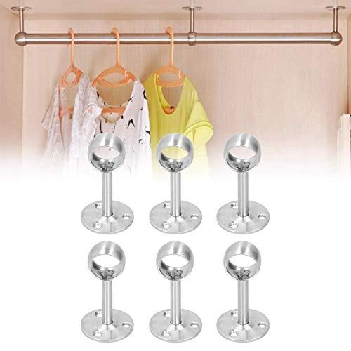Flänsuttag, stabil struktur Gardinstång Takfäste Bär gardinstångsfäste för hattstänger för badrum Duschridstänger för träskivor(22 all pass)