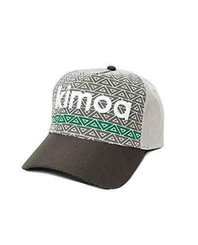Kimoa - Curva Gorra de béisbol, Gris, Estándar Unisex Adulto