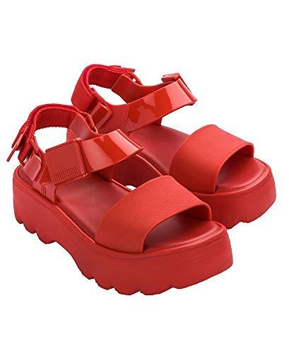 Sandália Melissa Kick Off Sandal - Vermelho - 35