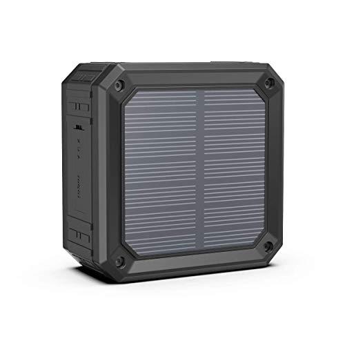 ABFOCE Altavoz Bluetooth Solar 15 Horas Mini Altavoz portá