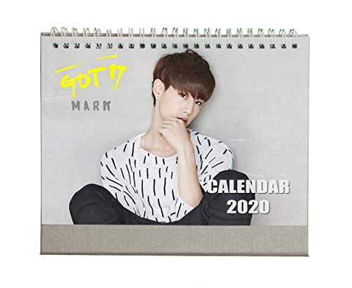 Fanstown Kpop GOT7 2020 Desk Calendar Fanmade with lomo Cards