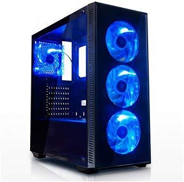 【NLパソコン】コスパ重視ゲーミングパソコン 最新世代Pentium Gold G6400(4.0GHz*4)プロセッサー搭載 / メモリDDR4-8GB / ビデオカードGTX1650 GDDR5 4GB / Windows10 Pro/WPS OFFICE (SSD240+1TB, シリウスモデル)