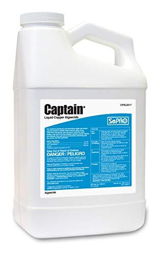 Captain Liquid Copper Algaecide 1 Gallon