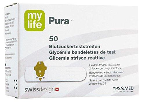 mylife Pura Blutzuckerteststreifen, 50 St