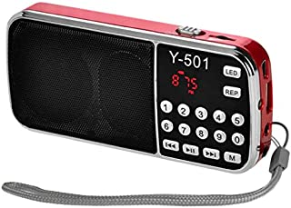 Iycorish Y-501 Digital Portable Audio LCD Digital FM Radio Speaker USB Mp3 Music Player