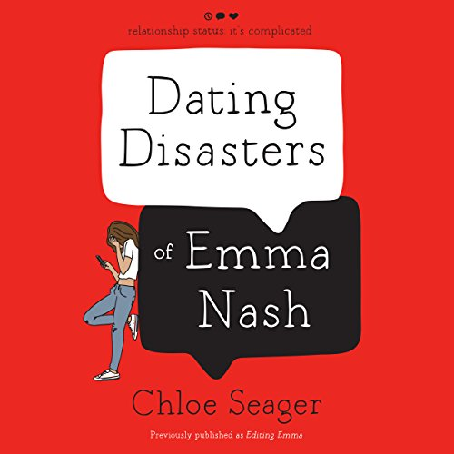 Dating Disasters of Emma Nash audiobook cover art
