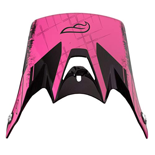 Fulmer 251 Compass Youth Helmet Replacement Visor/Peak Pink