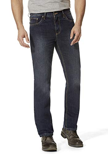 Hero Denver Regular Straight Rigid Jeans 7100 - Deep Blue, Deep Blue, 38W / 30L