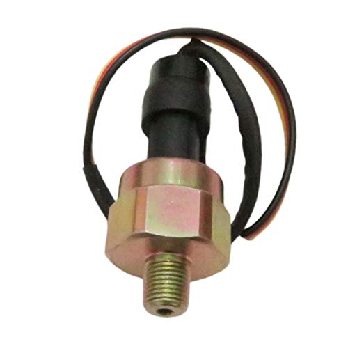 100 Psi 5V Pressure transducer for Oil Fuel Water Air Pressure - Stainless Steel