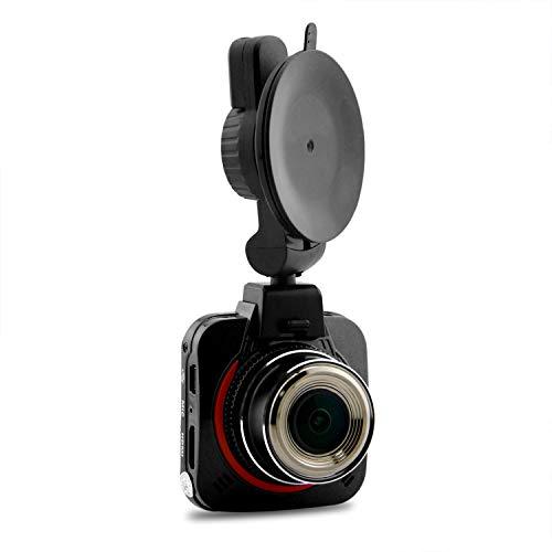 HEIFEN Caméra de Voiture avec enregistreur 170 ° Grand Angle 1296P Ultra HD 5 Millions de Pixels Fonction HDR Plage d'ouverture F1.8 Focale F = 2.8 Mm