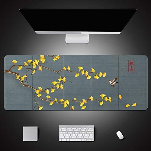 alfombrilla de ratón grande Alfombrilla de mesa con diseño de pájaro de...