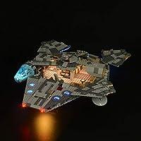 OSoMax LED Beleuchtungsset für Lego Star Wars Millennium Falcon 75257, LED Licht Modernes Design Kompatibel mit Lego 75257