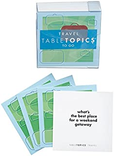 Table Topics Travel Topics To Go Game Question Travel Cards