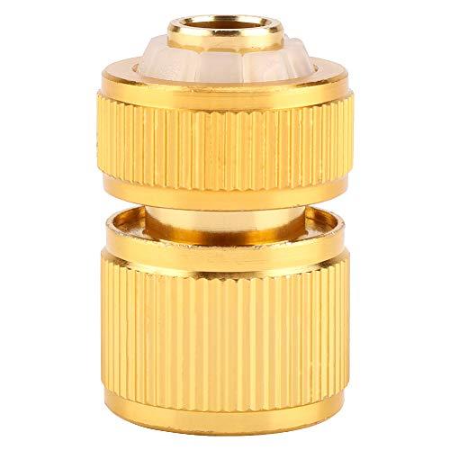 Jinyi Conector rápido de tubería de jardín de aleación, Conector de Grifo de Manguera de Agua de Boquilla de Interruptor de Montaje para el hogar