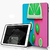 She Charm Carcasa para iPad 10.2 Inch, iPad Air 7.ª Generación,Conjunto de Accesorios de Hipster de Verano de Moda de cítricos de limón,Incluye Soporte magnético y Funda para Dormir/Despertar