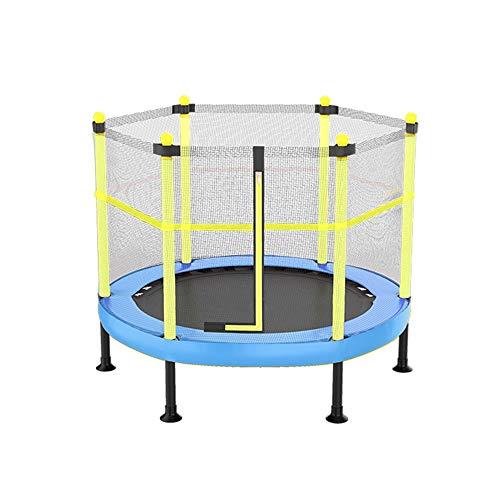 JDKC Mini-Trampolin mit Sicherheitsnetz-Abdeckung klappbar Home Round Fitness Trampolin Belastbarkeit: 200 kg Indoor Trampolin