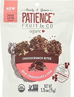 Patience Fruit & Co. Milk Chocolate Chia Bites, 3.35 oz ( pack of 8)