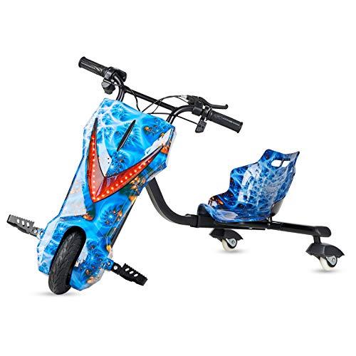 Ecoxtrem Kart Trike o Triciclo Drift eléctrico Infantil de 3 Ruedas con...