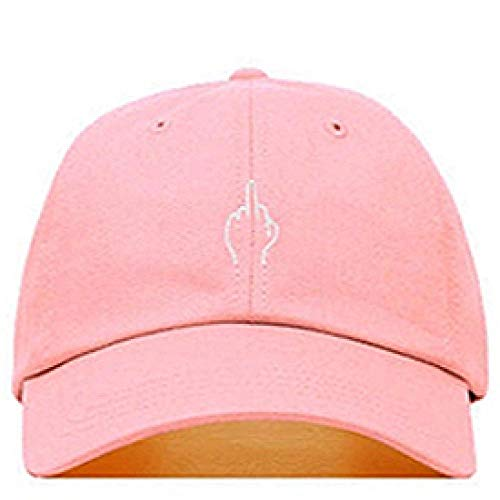 Gorra de Beisbol Bordado Creativo Gorra De Béisbol Personalidad Gorras De Hip Hop Moda Pareja Sombrero Al Aire Libre Ocio Papá Sombreros Rosa