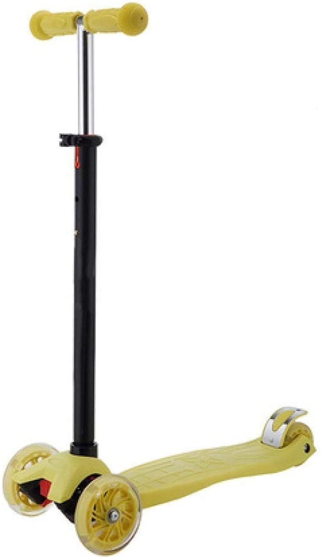 XHLJ Scooter, per Bambini, Pedale della Ruota Lampeggiante, Altalena di Sollevamento Libera, Scorrimento A 3 Ruote (Coloreee   H.)