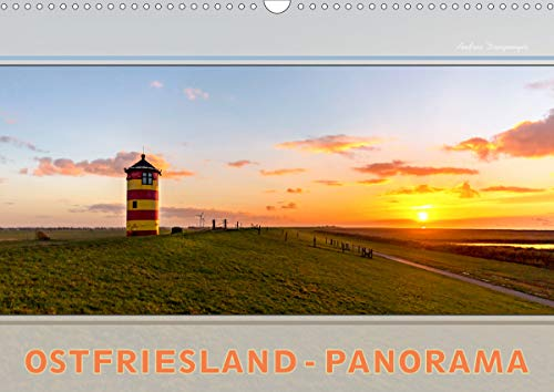 Ostfriesland-Panorama (Wandkalender 2021 DIN A3 quer)