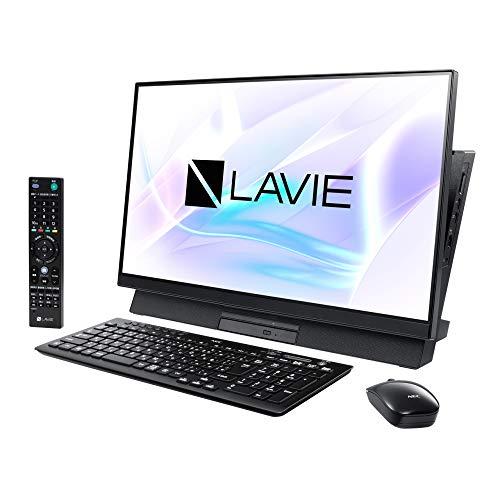 NEC 23.8型デスクトップパソコン LAVIE Desk All-in-one DA770/MAB【2019年 春モデル】Core i7/メモリ 8GB/HDD 3TB+Optane 16GB/TV機能(ダブルチューナ)/Office H&B 2019 PC-DA770MAB