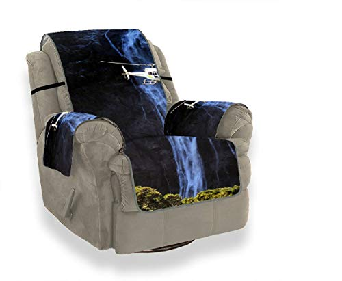 JOCHUAN Sunset On Milford Bay Lake Fundas de sofá para sofá Sofá Cubierta de Manta Sofá Amortiguación Protector de Muebles para Mascotas, niños, Gatos, sofá