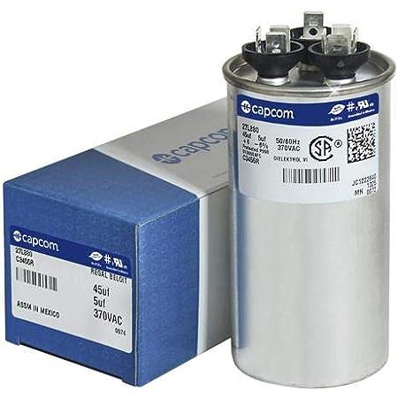 35 uf MFD 370//440 Volt VAC ClimaTek Round Capacitor fits Genteq # C335R