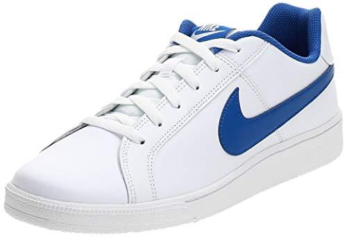 Nike Court Royale, Zapatillas Hombre, Blanco/Azul (White/Game Royal), 41 EU