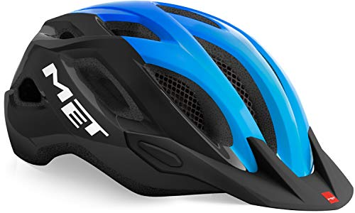 MET Crossover 2021 - Casco para bicicleta (talla XL, 60-64 cm), color...