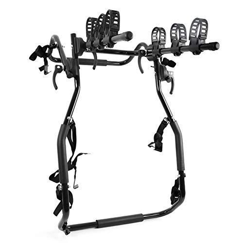 Portabicicletas,Portabicis Trasero para Bicicleta Portaequipajes para AutomóVil Acero de Alto Carbono Plegable...