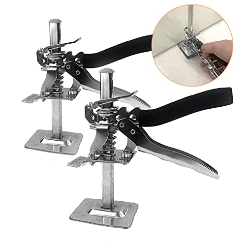 2 Packs Hand Lifting Tool Jack, Labor-saving Arm Jack, The Height can be Raised by 5-100mm, Door Panel, Up to 265 lb, Board Lifter, Wall Tile Height Adjuster SISI HOT