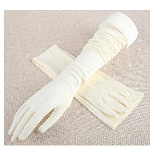 Mjd Mouw Arm Mouwen voor Zon Bescherming Vrouwen Volwassen Effen Zomer Rayon Kant Mouwen Arm Manchet Arm Slimmer Zonnebrandcrème Sleeve