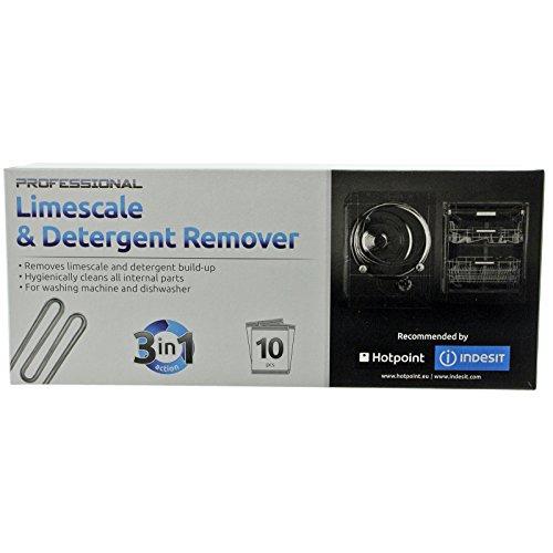 Hotpoint Dishwasher Limescale Descaler/Cleaner bustine (confezione da 10)