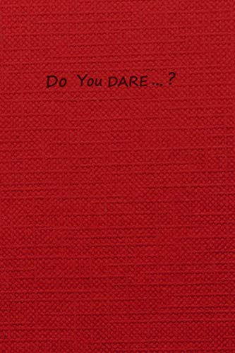 Do you dare ... ?: Dash & Lily notebook (Best notebooks for dash and lily fans)