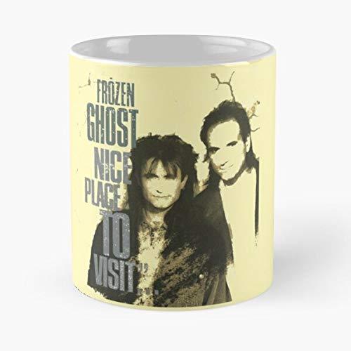 Tech Frozen Ghost Yacht Christian Retro Rock Hi Vintage Aor Band Best 11 oz Kaffeebecher - Nespresso Tassen Kaffee Motive