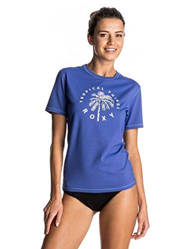 Roxy Camiseta de Manga Corta para Mujer Palms Away, Licra, Mujer, Color...