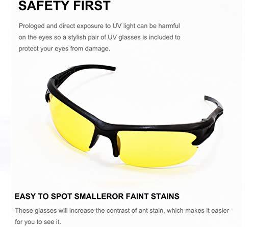 Simply Plus Black Light UV Flashlight, 51 LED Ultraviolet Black Light For Urine Detection For Pet Urine 6